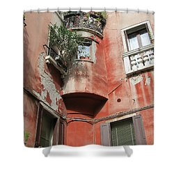 Venice Italy Street Shower Curtain