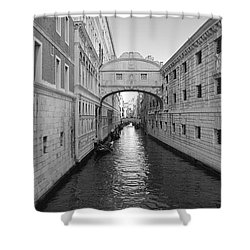 Venice Shower Curtain by Jonathan Kerckhaert
