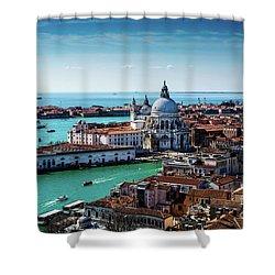 Venice Shower Curtain by M G Whittingham