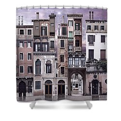 Venice Reconstruction 1 Shower Curtain