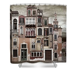 Venice Reconstruction 2 Shower Curtain
