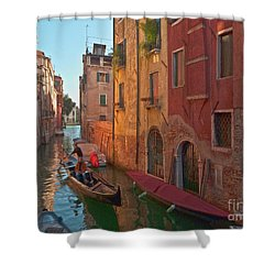 Venice Sentimental Journey Shower Curtain by Heiko Koehrer-Wagner