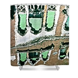 Venice Upside Down 2 Shower Curtain by Heiko Koehrer-Wagner