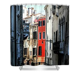 Shower Curtain featuring the photograph Venice Xx by Tom Prendergast