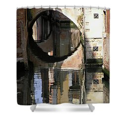 Venice01 Shower Curtain