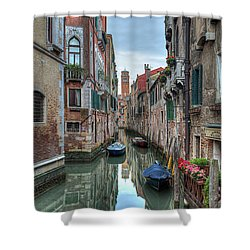 Venetian Morning Shower Curtain