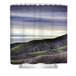 Ventura Two Sisters Shower Curtain by Kyle Hanson