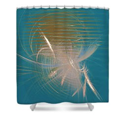 Venus Born Out Of The Sea Shower Curtain