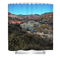 Verde Canyon Oasis Shower Curtain
