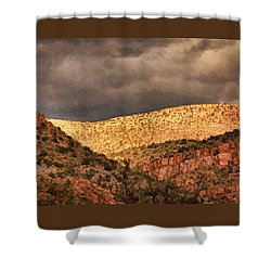 Verde Canyon View Pnt Shower Curtain