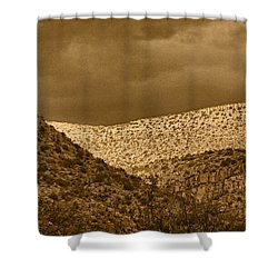 Verde Canyon View Tnt Shower Curtain