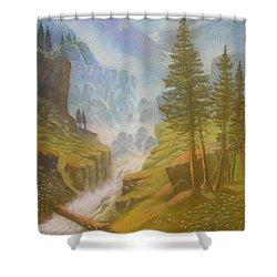 Verdi Colline Shower Curtain
