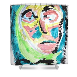 Verging On Morbidity Shower Curtain