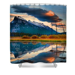 Vermillion Beauty Shower Curtain