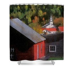 Vermont Again Shower Curtain
