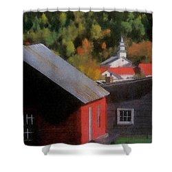 Vermont Again Shower Curtain