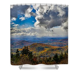 Vermont Autumn From Mt. Ascutney Shower Curtain