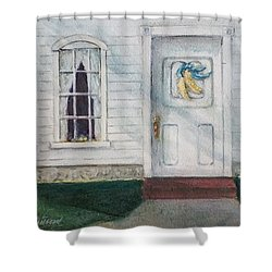 Vermont Fall Colors Shower Curtain