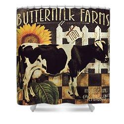 Vermont Farms Cow Shower Curtain