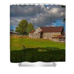 Vermont Hilltop Farm Shower Curtain