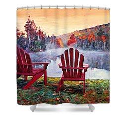 Vermont Romance Shower Curtain