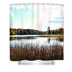 Vermont Scenery Shower Curtain