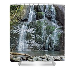 Vermont Waterfall Shower Curtain
