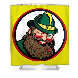 Vernors Ginger Ale - The Vernors Gnome Shower Curtain