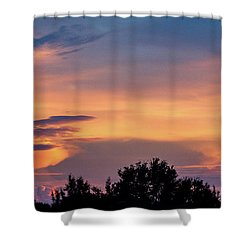 Vero Sunrise Shower Curtain