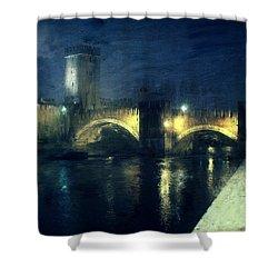 Verona, Castelvecchio Shower Curtain