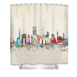 Verona Italy Skyline Shower Curtain