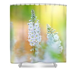 Veronica Glow Shower Curtain