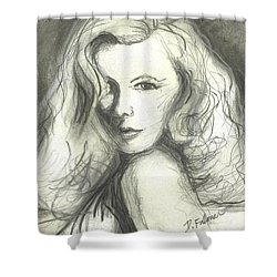 Veronica Lake Shower Curtain