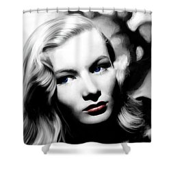 Veronica Lake Portrait #1 Shower Curtain