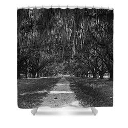 Versailles Oaks Shower Curtain