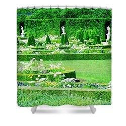 Versailles Pathways Shower Curtain