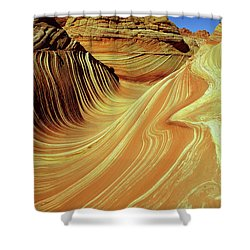 Vertical Wave Shower Curtain