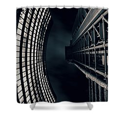 Vertigo I Shower Curtain