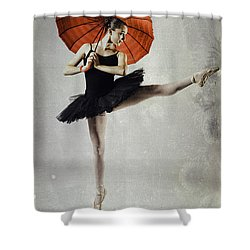 Very Pointey Shower Curtain