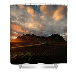 Vestrahorn Shower Curtain