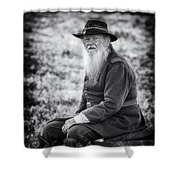 Veteran Soldier Shower Curtain