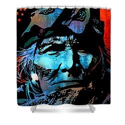 Veteran Warrior Shower Curtain by Paul Sachtleben