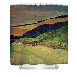 Vetheuil At Dawn Shower Curtain