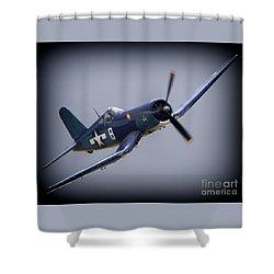 Vf-84 Jolly Rogers' Corsair No.8 Shower Curtain