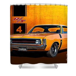 Vh Valiant Charger Shower Curtain