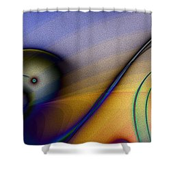Viaje Epico Shower Curtain