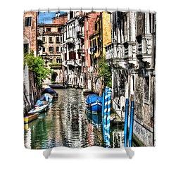 Viale Di Venezia Shower Curtain