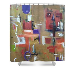 Vibe Shower Curtain