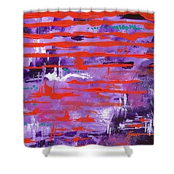 Vibes  Shower Curtain