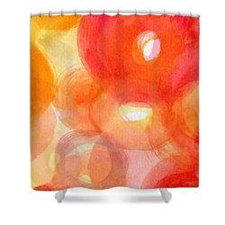 Vibration Shower Curtain by France Laliberte